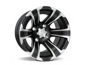 Disk ITP SS312, 12x7 (2+5) Matte Black w/ Machined 4/110