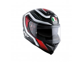 Prilba AGV K-5 S Firerace Black Red