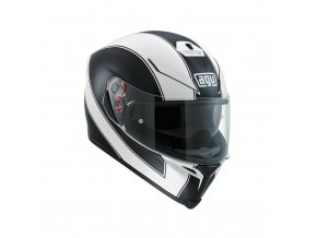 Prilba AGV K-5 S Enlace White Matt Black
