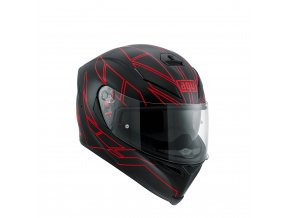 Prilba AGV K-5 S Hero Black Red