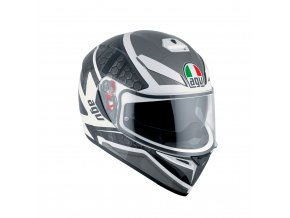 Prilba AGV K-3 SV Pulse White Black Gunmetal