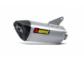 Výfuk Akrapovič Ducati Hyperstrada 2016 - 2018 Slip-On Line (Titanium) S-D9SO8-RT