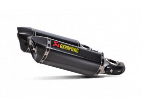 Výfuk Akrapovič Ducati Monster 1100/1100S 2009 - 2010 Slip-On Line (Carbon) S-D10SO7-HZC