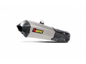 Výfuk Akrapovič Ducati Multistrada 1200 2015 - 2016 Slip-On Line (Titanium) S-D12SO7-HHX2T