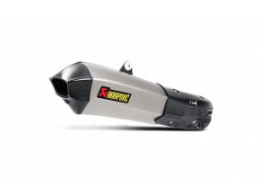 Výfuk Akrapovič Ducati Multistrada 1200 S 2015 - 2016 Slip-On Line (Titanium) S-D12SO7-HHX2T