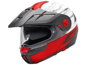 prilba na moto schuberth e1 crossfire red