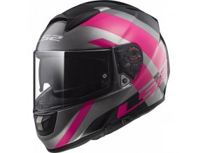 Prilba LS2 FF397 Trident Titanium Pink