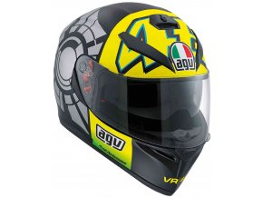 Prilba AGV K-3 SV Winter Test 2012
