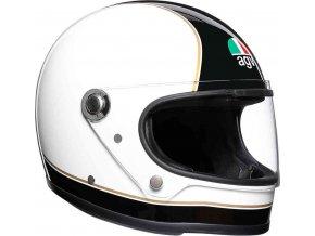 prilba na moto agv x3000 super agv black white