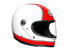 prilba na moto agv x3000 super agv red white