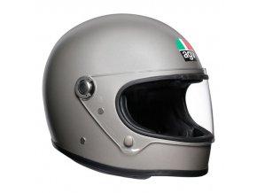 prilba na moto agv x3000 matt light grey