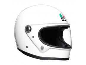 prilba na moto agv x3000 white