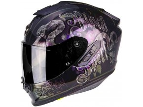 Prilba Scorpion EXO-1400 Air Blackspell Chameleon Black