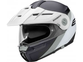 prilba na moto schuberth e1 gravity grey