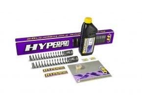 Hyperpro Moto Guzzi CALIFORNIA 1100 EV 98-03 45MM Tlmič+BLACK TWIN Predné progresívne pružiny KIT SP-MG11-SSA003