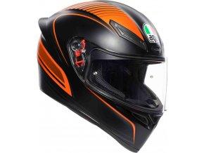Prilba AGV K1 Warmup Black Orange