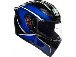 Prilba AGV K1 Qualify Black Blue