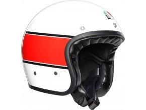 Prilba AGV X70 Mino 73 White Red