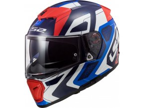 prilba na moto ff390 breaker android blue red