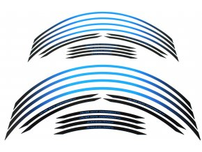 Polep okrajov kolies Valtermoto RR04 modrá