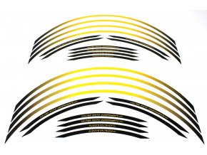 Polep okrajov kolies Valtermoto RR04 žltá