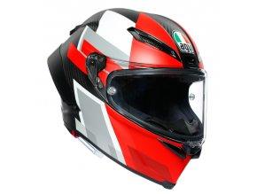 Prilba AGV Pista GP RR Competizione Carbon White Red