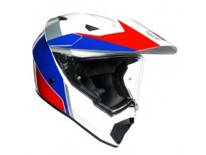 prila na moto agv ax 9 trail atlante white blue red