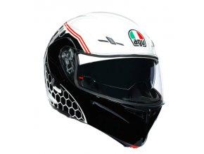 prilba na moto agv compact st detroit white black 1