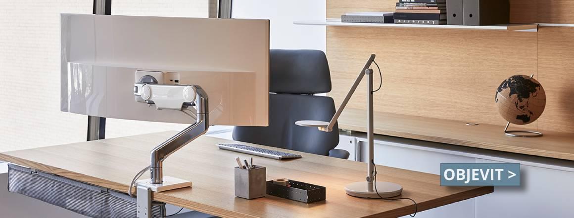 Rameno monitoru, základ ergonomie