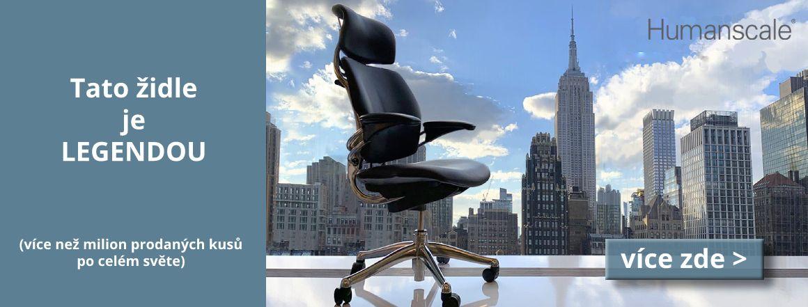 Židle Humanscale Freedom se stala legendou