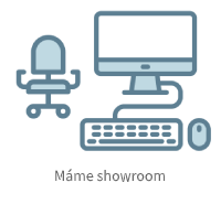 Máme showroom