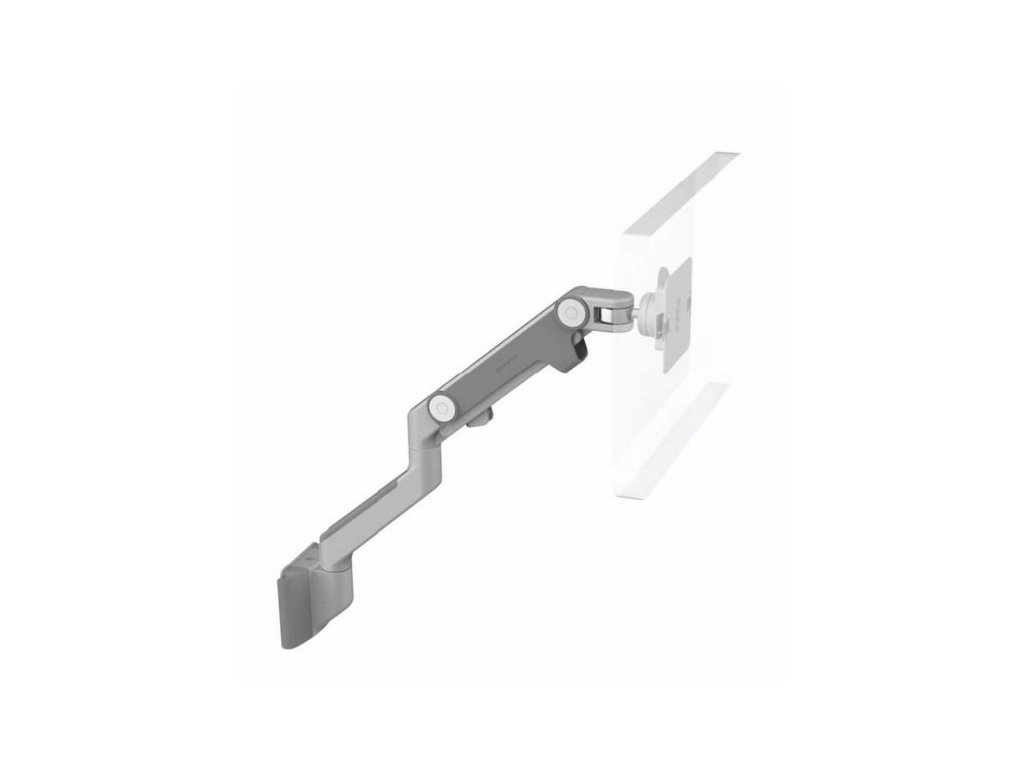 Humanscale M8HS1S stojan na displej upevnění na zeď stříbrno-šedá