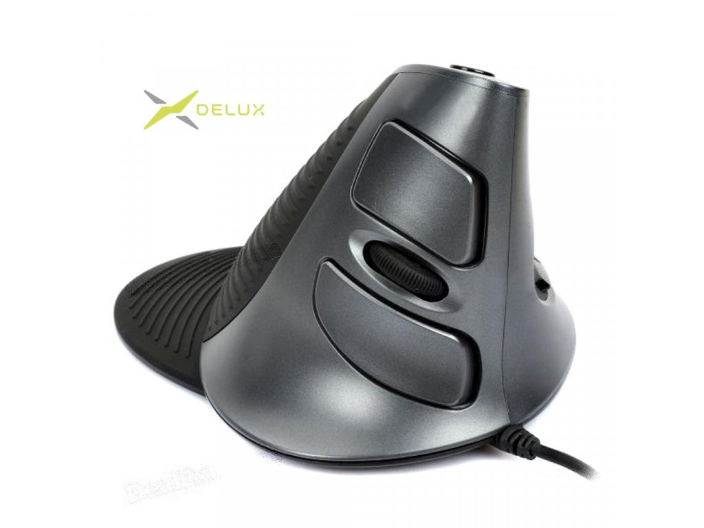 Delux M618 Wired mouse black (M618)