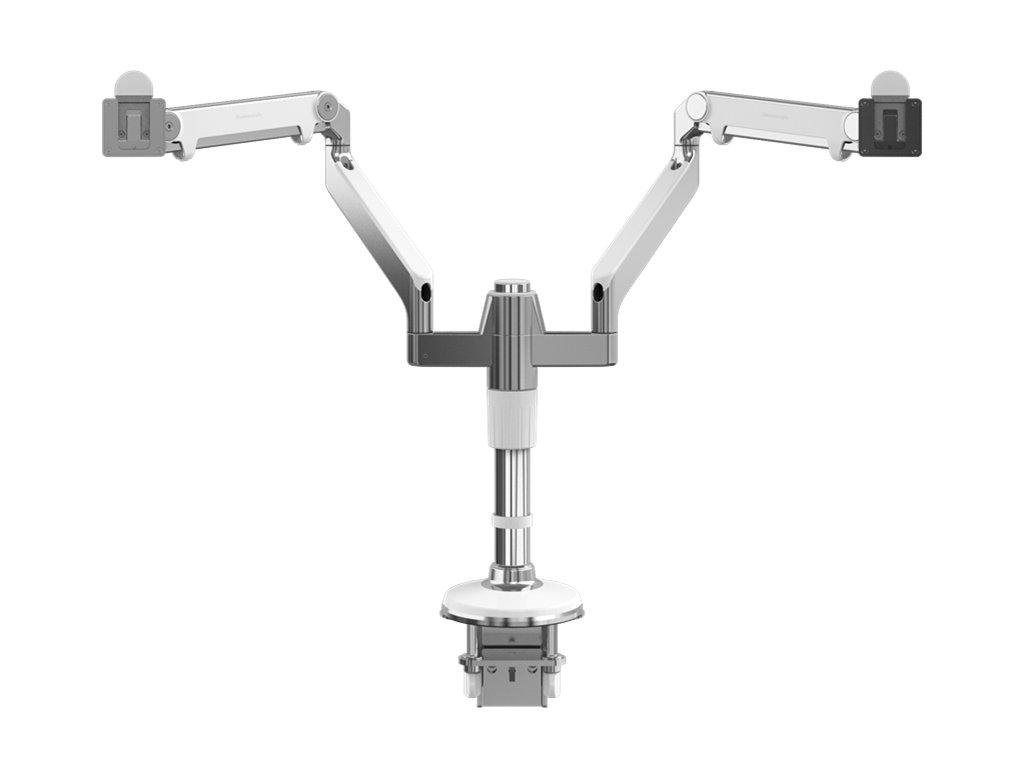 Humanscale MF22W11C12 stojan pro dva displeje upevnění na svěrku - bílá