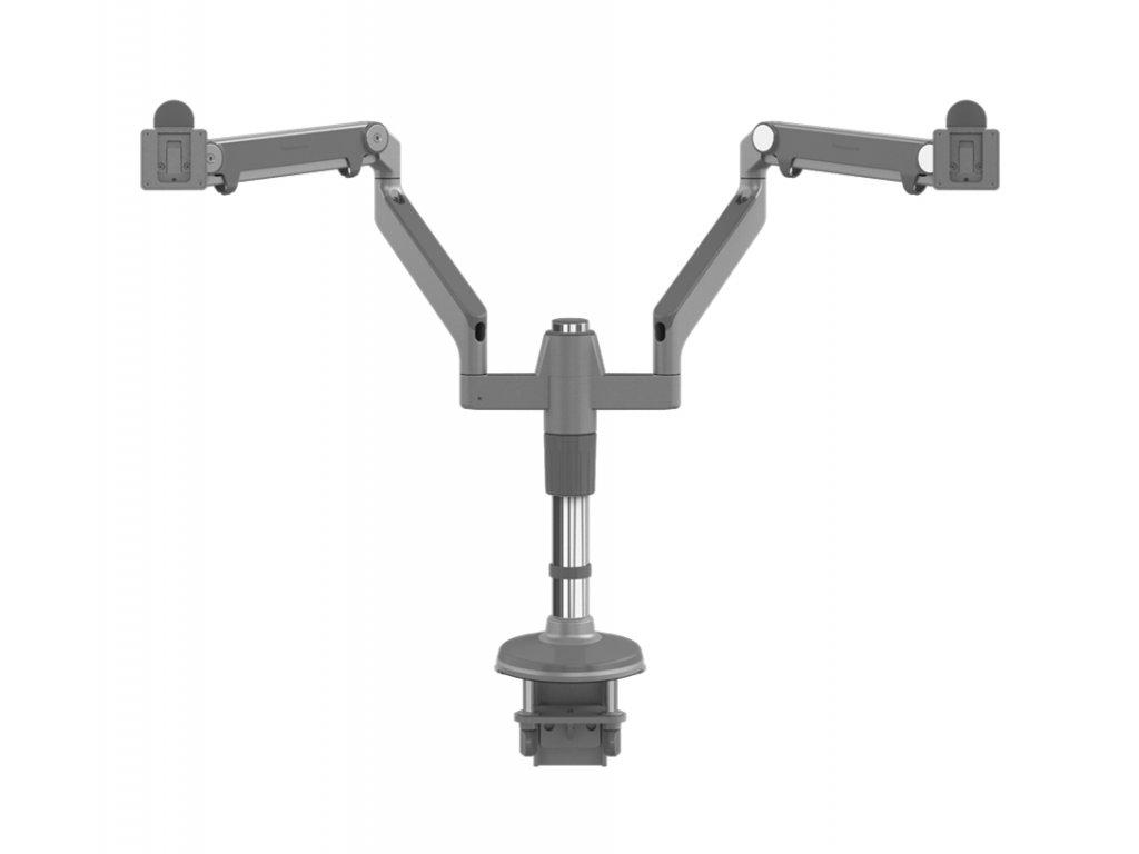 humanscale-mf22s11c12-stojan-pro-dva-displeje-upevneni-na-sverku-stribrna