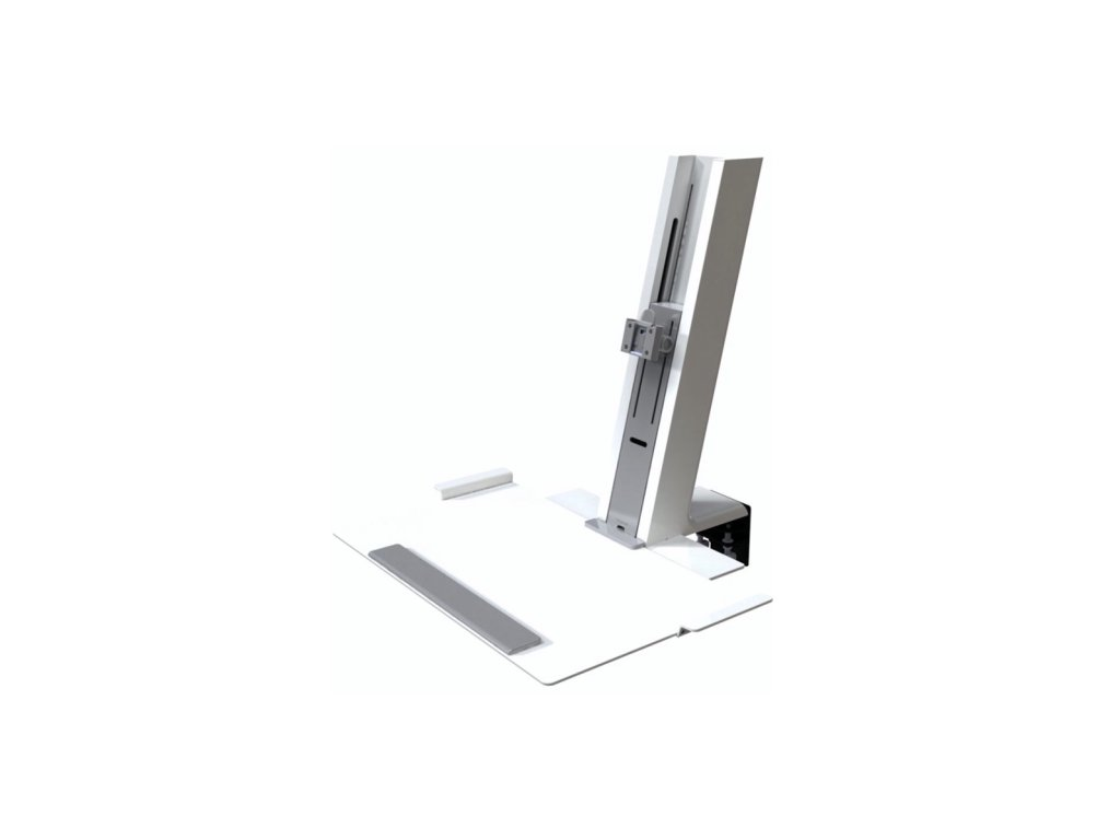 Humanscale QuickStand bílo - šedá pro jeden displej (QSWH30CDN)