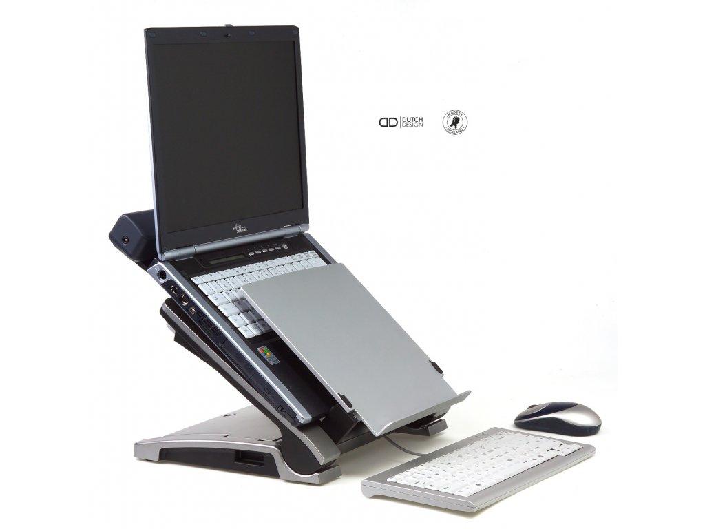 Bakker Elkhuizen Ergo-T 340 polohovatelný stojan na notebook