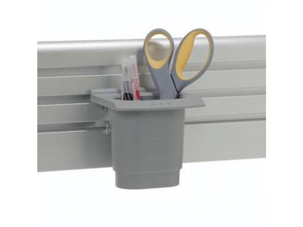Humanscale kelímek na drobnosti stříbrný (A11000S)