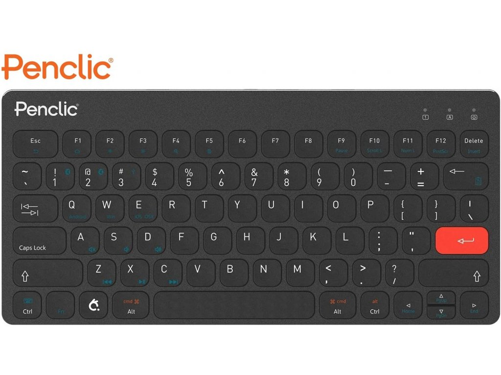 klavesnice-k-tabletu-penclic-wireless-kb3-us-bluetooth-black-2057