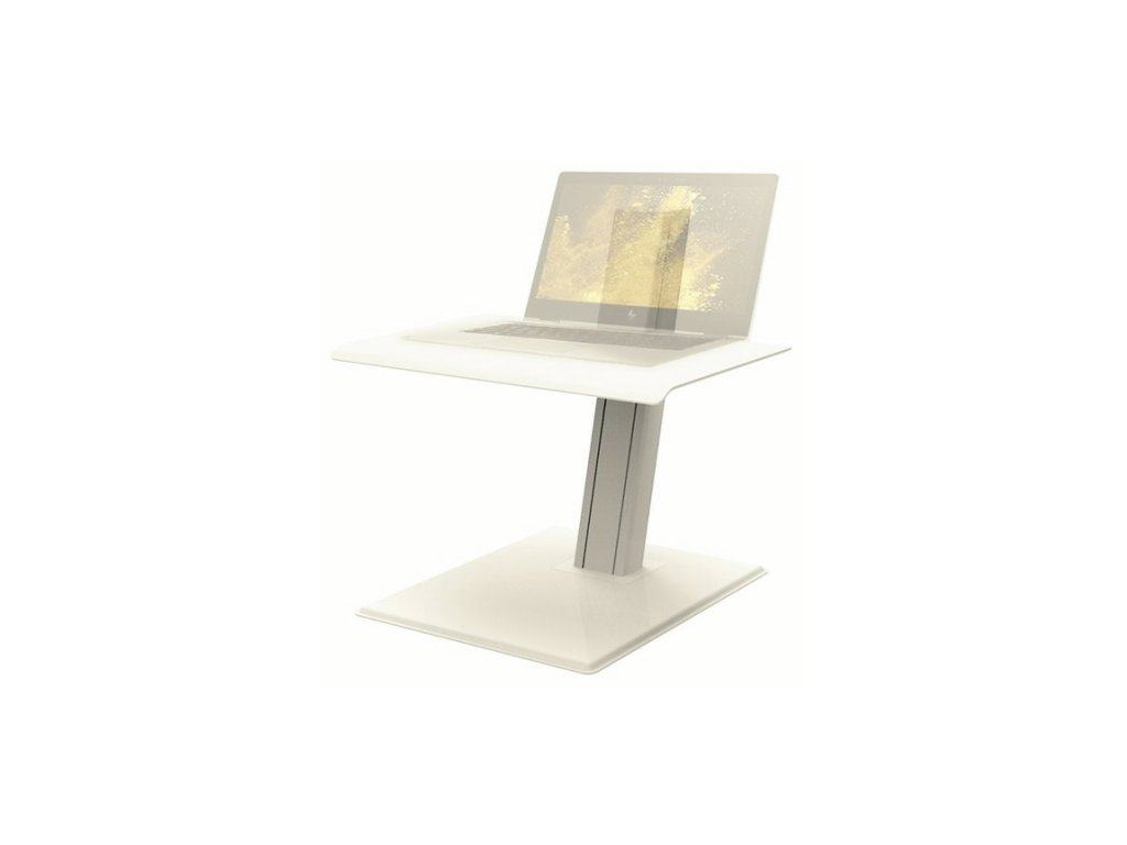 Humanscale QuickStand Eco bílá pro laptopy (QSEWL)