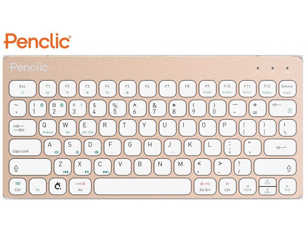 klavesnice-k-tabletu-penclic-wireless-kb3-us-bluetooth-gold-2058