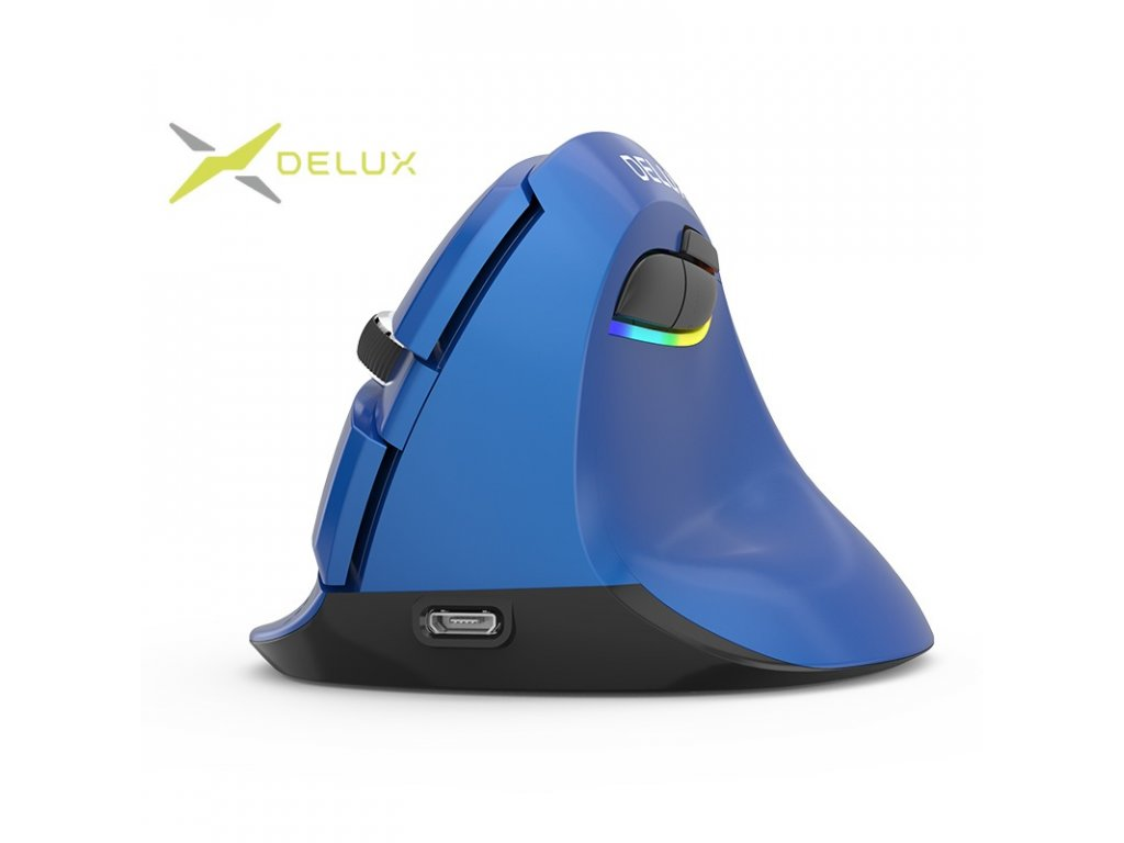 Delux M618mini Wireless mouse pearl-like blue