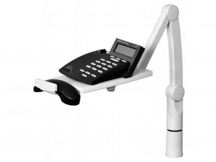 Hansa telefonní stojan kloubový otočný šedá