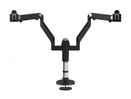 Humanscale M-Flex stojan pro dva displeje upevnění na šroub - černá (MF22B11B12)