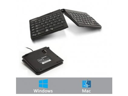 GoldTouch Wired Travel Go2 US Keyboard GTP-0044 black