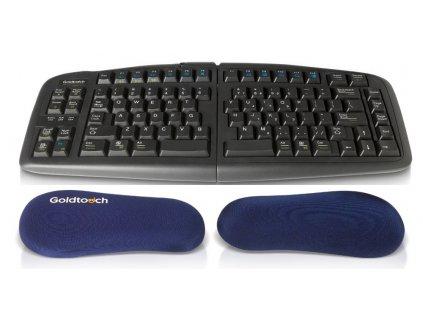 Goldtouch gelové podložky pod zápěstí Technogel modrá (GT7-0003)