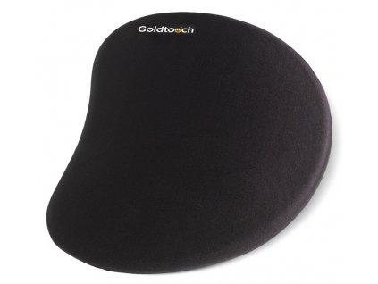 Goldtouch GT9-0017 gelová podložka pod myš pro praváky černá nízká