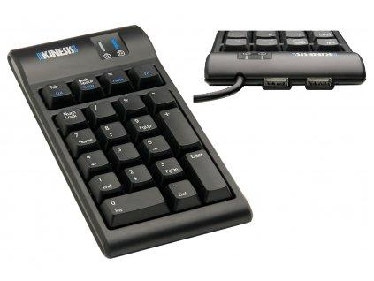 numericka-klavesnice-kinesis-AC800HPB-Freestyle2-2xHUB