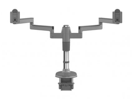 Humanscale M-Flex stojan pro dva těžké displeje upevnění na svěrku - stříbrno-šedá (MF82S33C12)