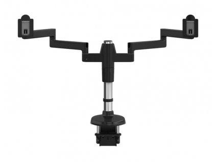 Humanscale M-Flex stojan pro dva těžké displeje upevnění na svěrku - černá (MF82B33C12)